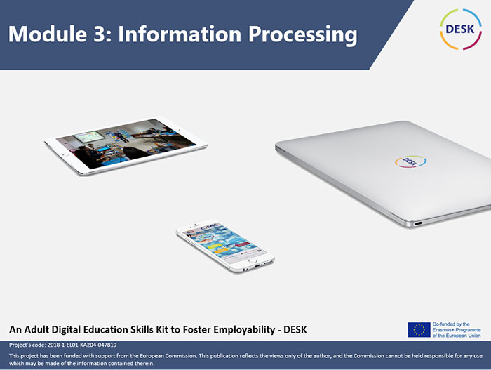 Course Image MODULE 3 - Information processing