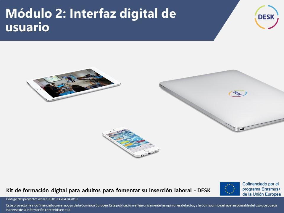 Course Image Módulo 2: Interfaz digital de usuario